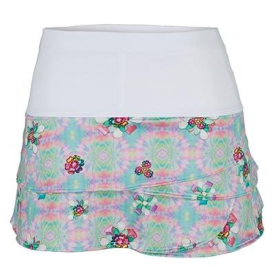 Lucky in Love Girl's Crystal Flower Skirt