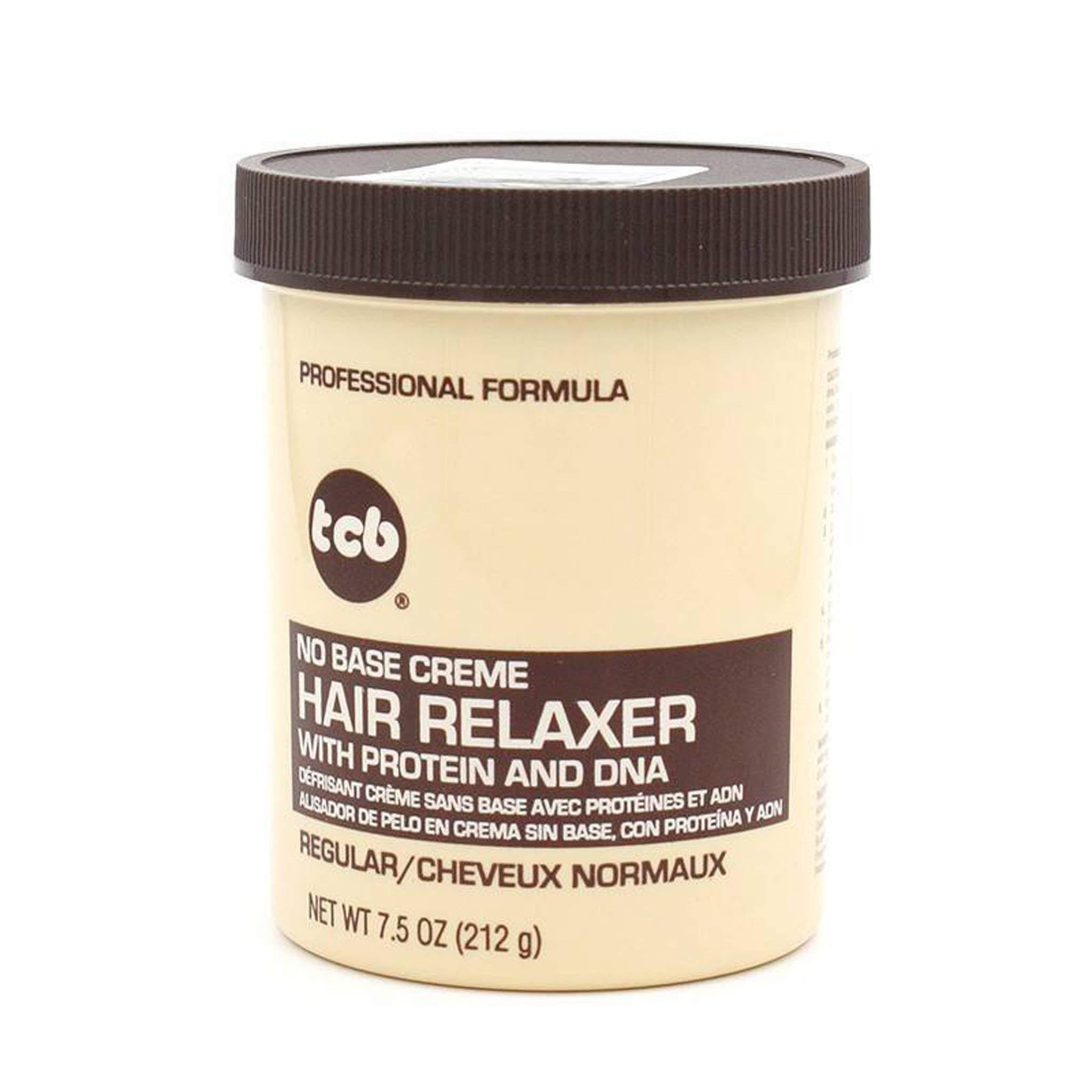 Tcb No Base Hair Relaxer Creme, Regular, 7.5 Ounce (COS5403)