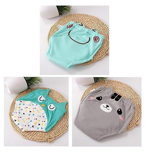 100% pantalones de entrenamiento de algodón ropa interior impermeable niñas niños, niño bebé tela