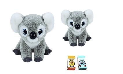 9f8f86e9e1b Buy Ty Beanie Babies Medium (9 In) And Small (6 In) Kookoo The Koala ...