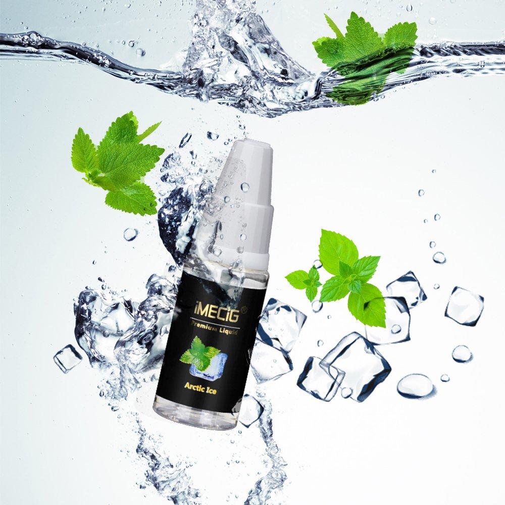 IMECIG® E-Líquido 5x10ml Botellas para E-Cigarrillo E-Shisha E ...