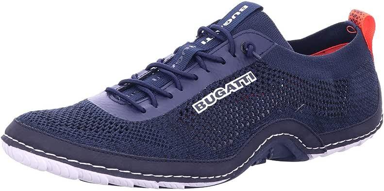 Bugatti Quetzal - Zapatillas de malla para hombre, color Azul, talla 47 EU: Amazon.es: Zapatos y complementos