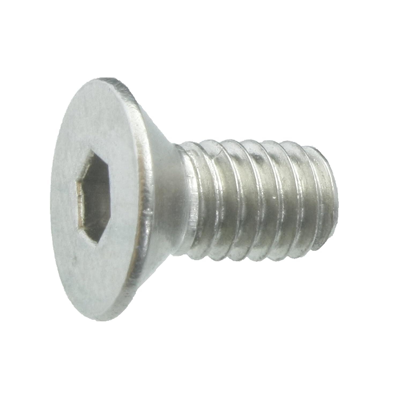ISO 10642 // DIN 7991 Werkstoff A2 Senkschrauben mit Innensechskant und Vollgewinde 10 Senkkopfschrauben Edelstahl M4 x 8 mm VA // V2A