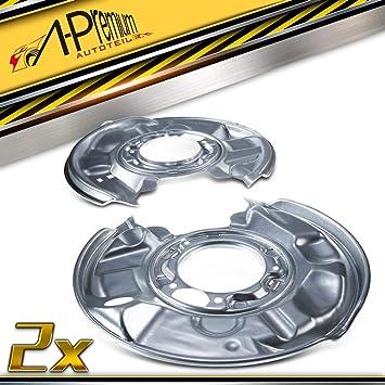2x Deckblech Spritzblech Ankerblech Bremsscheibe Hinten Für C Klasse W203 S203 Cl203 Clc Clk 2001 2011 2034230320 Auto
