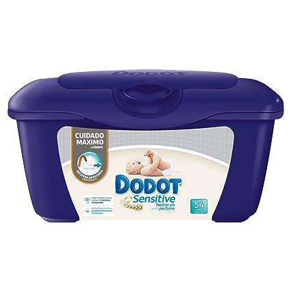 f8f35cc7d Dodot Sensitive - Caja de 54 toallitas para bebé  Amazon.es  Salud y ...