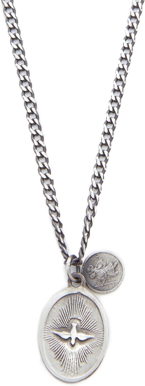 Miansai Mens Dove Pendant Necklace