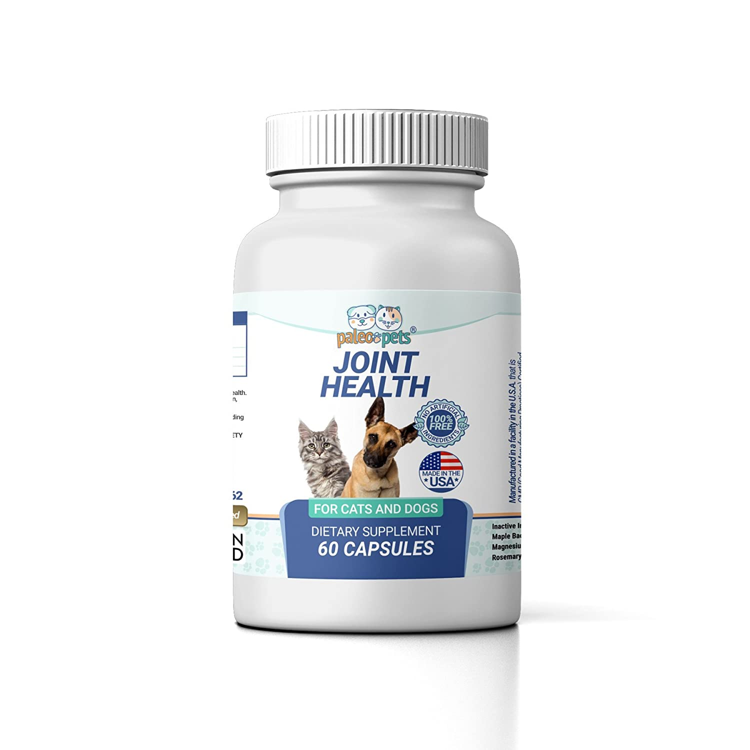 Amazon.com : Paleo Pets Dog or Cat Natural Joint and Flexibility Joint Health Supplement - Pets Joint Supplement Natural Made in USA - Supports Hip & Joint ...
