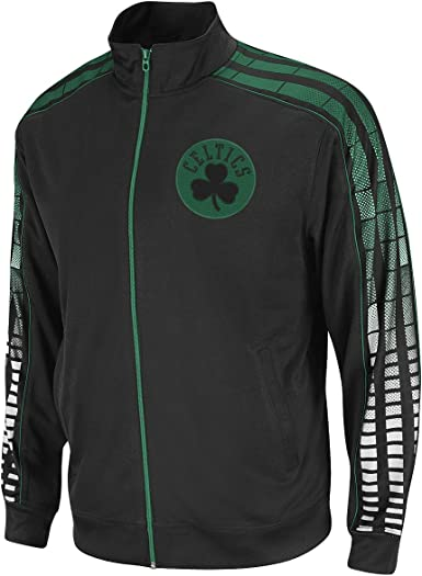 adidas NBA Boston Celtics Vibe Veste de survêtement, Homme