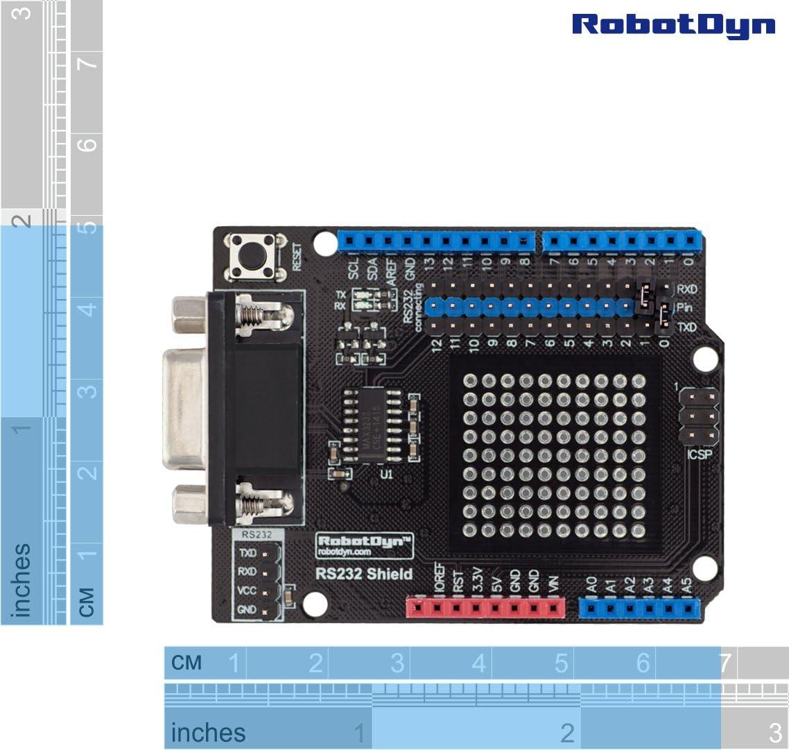 RobotDyn RS232 Shield for Arduino Uno Assembled Mega Leonardo