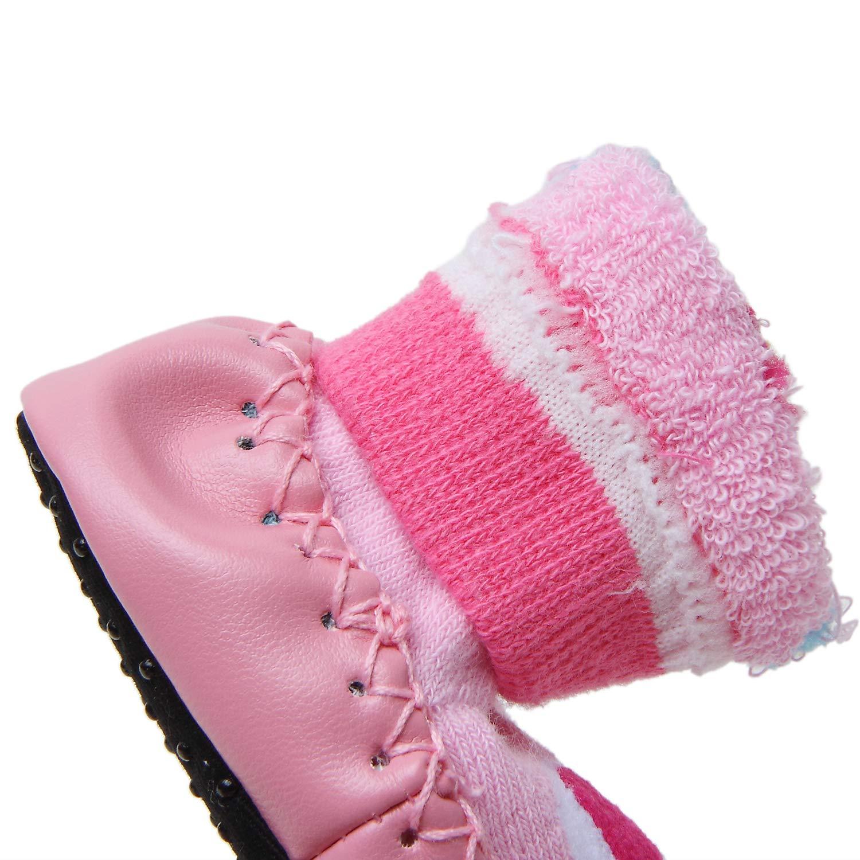 Adorel Calcetines Zapatos Antideslizantes para Beb/é 3 Pares