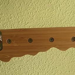 Zeller 13889 - Colgador de llaves con forma de llave, 35 x 4 x 12 ...