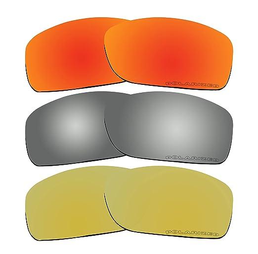 BVANQ 3 pares de lentes polarizadas de repuesto para Oakley ...