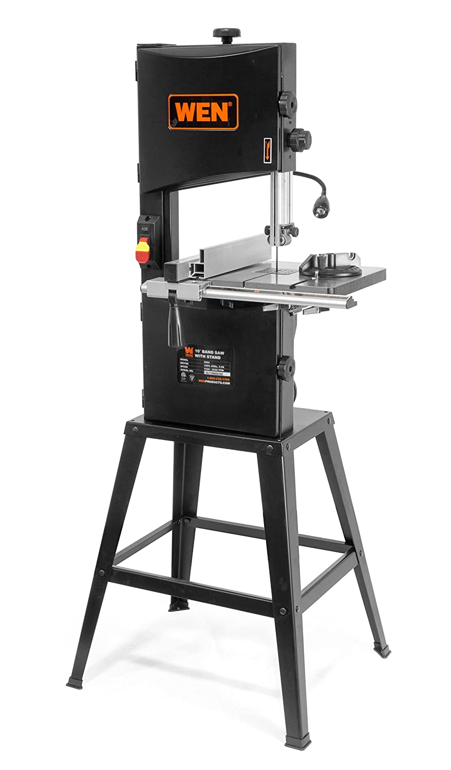 1. WEN 3962 Two-Speed Benchtop Band Saw