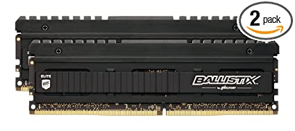 Ballistix Elite 8GB Kit (4GBx2) DDR4 3200 MT/s (PC4-25600) DIMM 288-Pin  Memory - BLE2K4G4D32AEEA