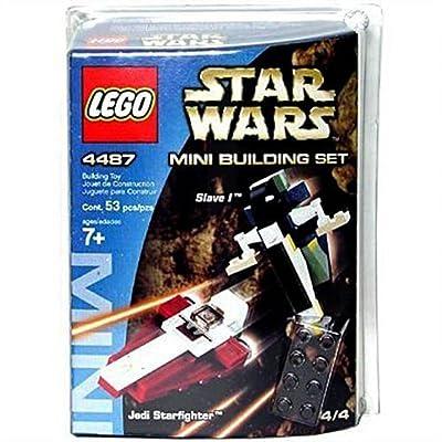 Lego Star Wars 4487 Mini Slave I & Jedi Starfighter