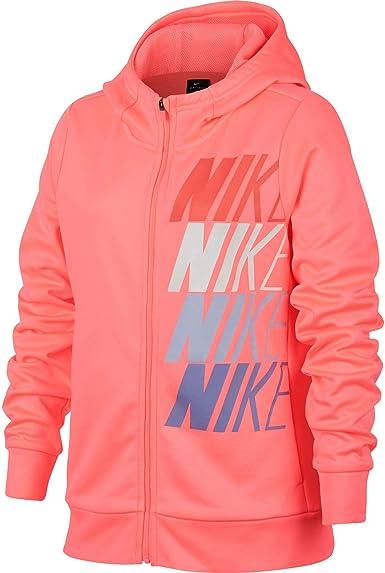 Desconocido Nike G Nk Therma Hoodie FZ Gx Chaqueta, Niñas: Amazon ...