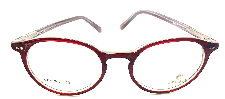 747e8aa8c58d Amazon.com  Credit Prescription Eye Glasses Frame