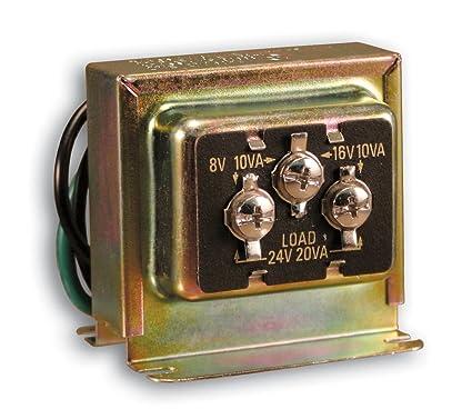 heath zenith sl-125-02 wired door chime transformer: amazon in: home  improvement