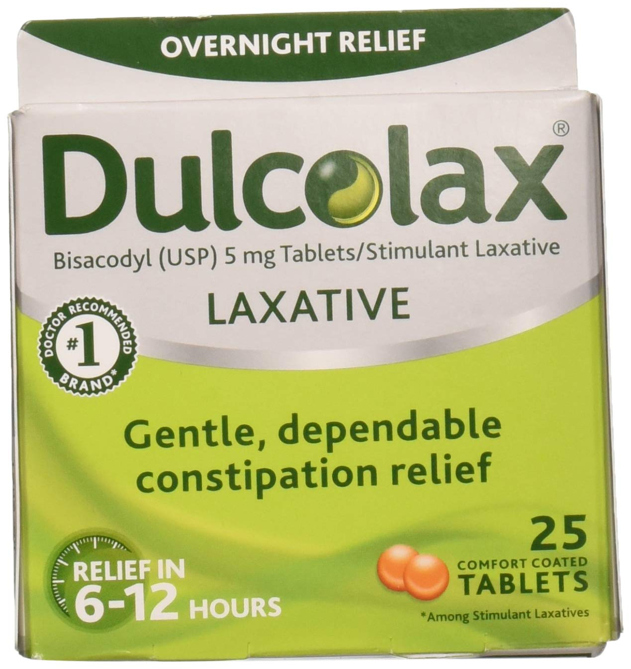 Dulcolax Laxative 25 Tablets