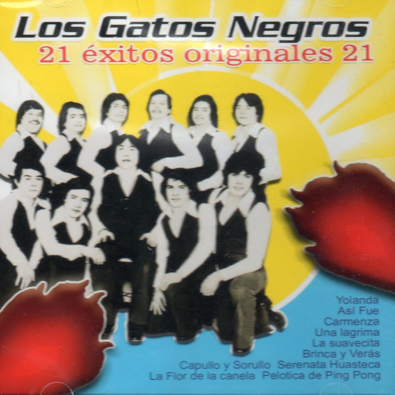 LOS GATOS NEGROS - LOS GATOS NEGROS 21 EXITOS ORIGINALES - Amazon.com Music