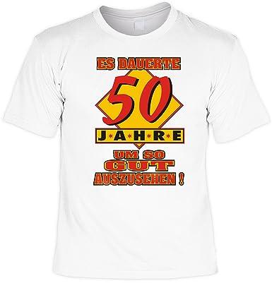 Lustige Spruche Fun Tshirt Es Dauerte 50 Jahre Um So Gut Auszushen