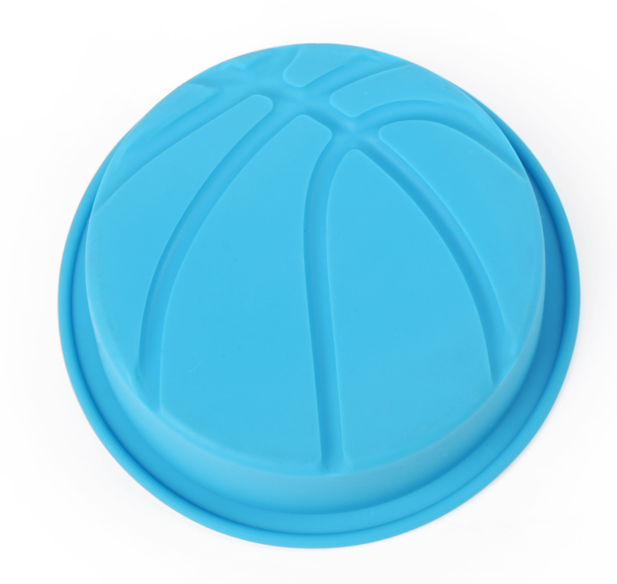 Home Value Colorful Silicone Sports Ball Set'' Soccer, Tennis, Baseball, Basketball '' Cake Mold, Assorted Colors (HVCOOKIECUTSC09) by Value Home (Image #3)