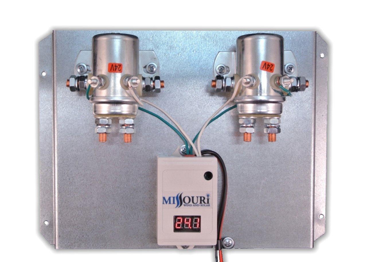 amazoncom 24 volt digital 880 amp charge controller with divert