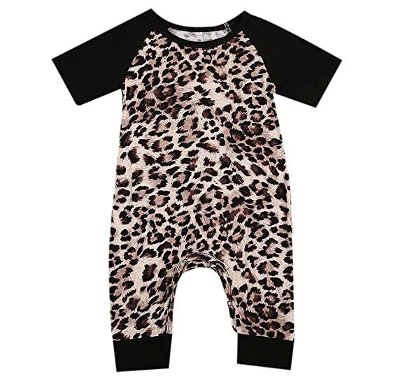 620f7c54a Amazon.com  Greenafter Newborn Baby Girl Floral Printed Romper ...