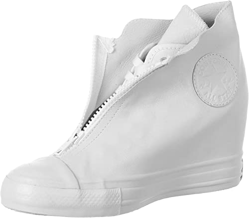 f566c35aee448b Converse Women s Chuck Taylor All Star Lux Wedge White 549564C-100 (SIZE  5