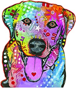 Enjoy It Dean Russo Lab Car Sticker, Outdoor Rated Labrador Retriever Vinyl Sticker Decal for Windows, Bumpers, Laptops or Crafts
