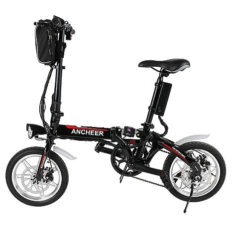 Lonlier Bicicleta El%C3%A9ctrica Plegable pulgadas