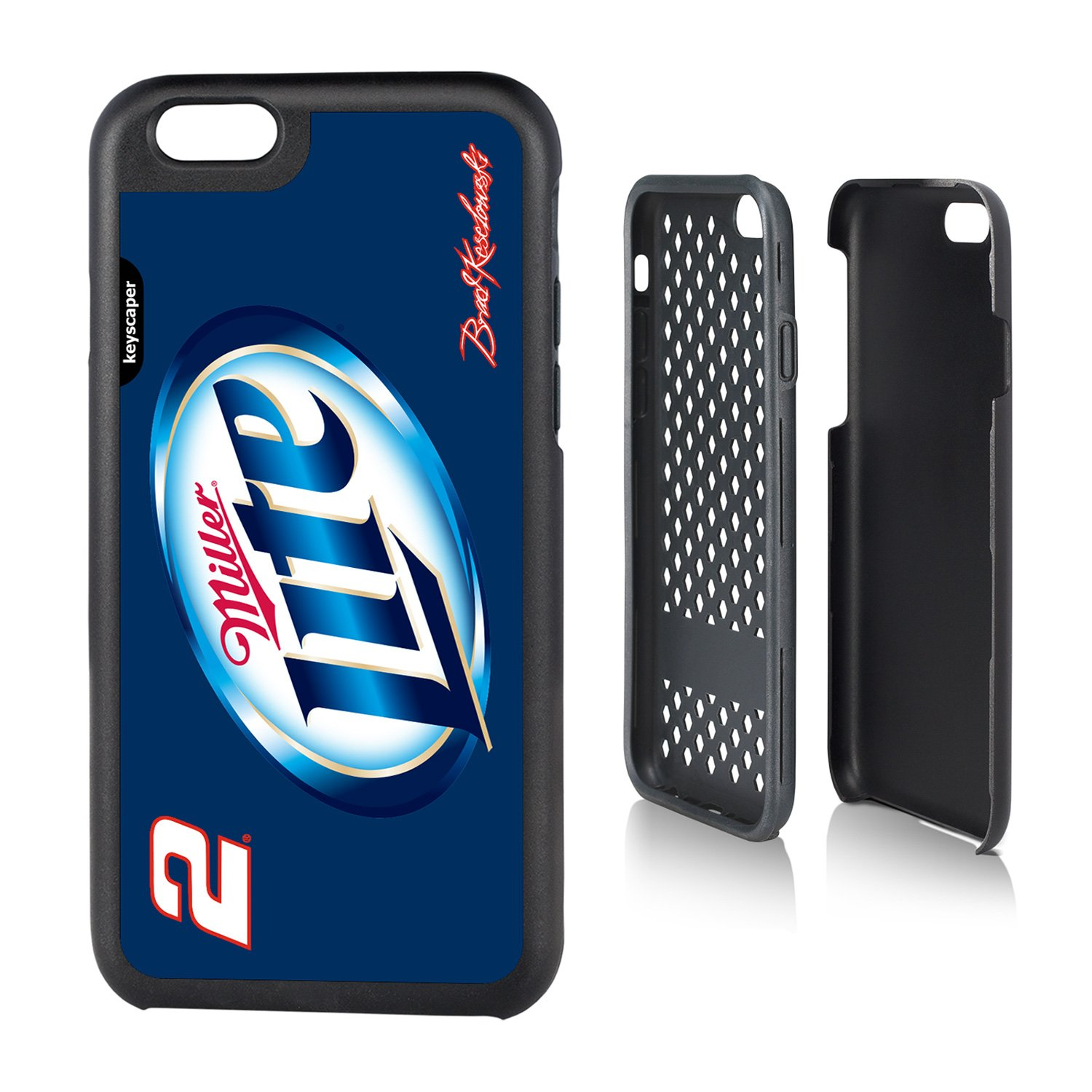 素晴らしい品質 Brad The Keselowski by iPhone 6 Apple & iPhone 6s頑丈なケースOfficially Licensed by Nascar For The Apple iPhone 6 by Keyscaper ®耐久性2層保護衝撃吸収 B00O4PLCPO, コレカウ:66499bff --- arianechie.dominiotemporario.com