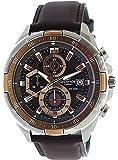 [カシオ]CASIO エディフィス EDIFICE 100m防水 クロノグラフ 本革ベルト EFR-539L-5AVUDF メンズ 腕時計 [並行輸入品]