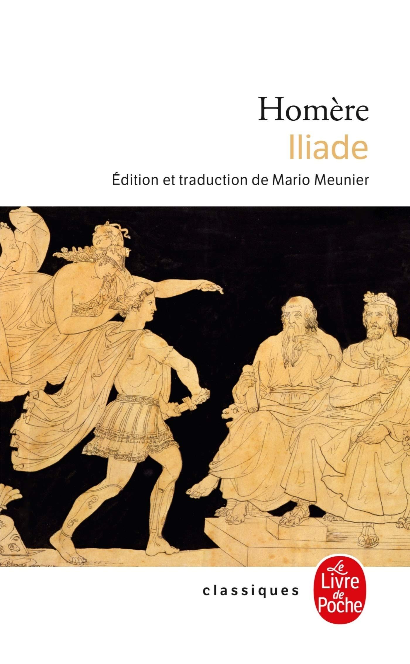 Iliade Ldp Classiques French Edition Homere 9782253010807 Amazon Com Books
