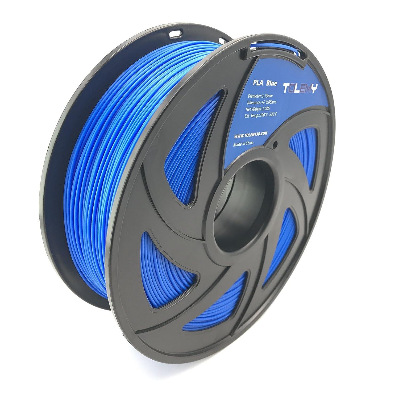 Filamento de impresora 3D TOLEMY Blue PLA 1 kg bobina, filamento ...