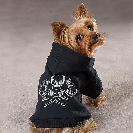 Royal Cruz Hueso Calavera Funda Chaqueta con capucha todos los tamaños ropa ropa perro de alta ...