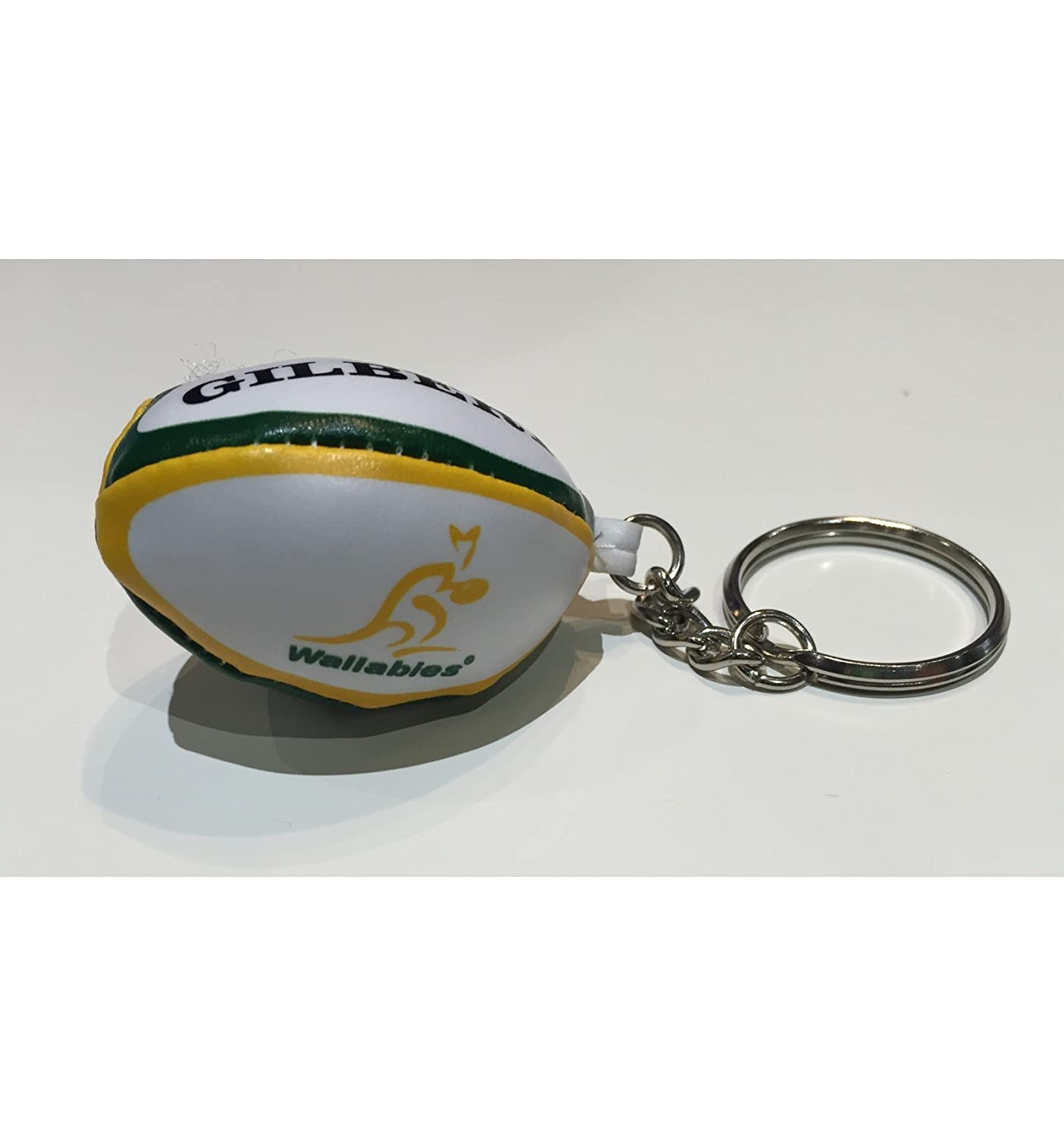 GILBERT australiano wallabies pelota rugby llavero: Amazon ...
