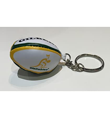 Amazon.com: GILBERT AUSTRALIA Wallabies pelota de rugby ...