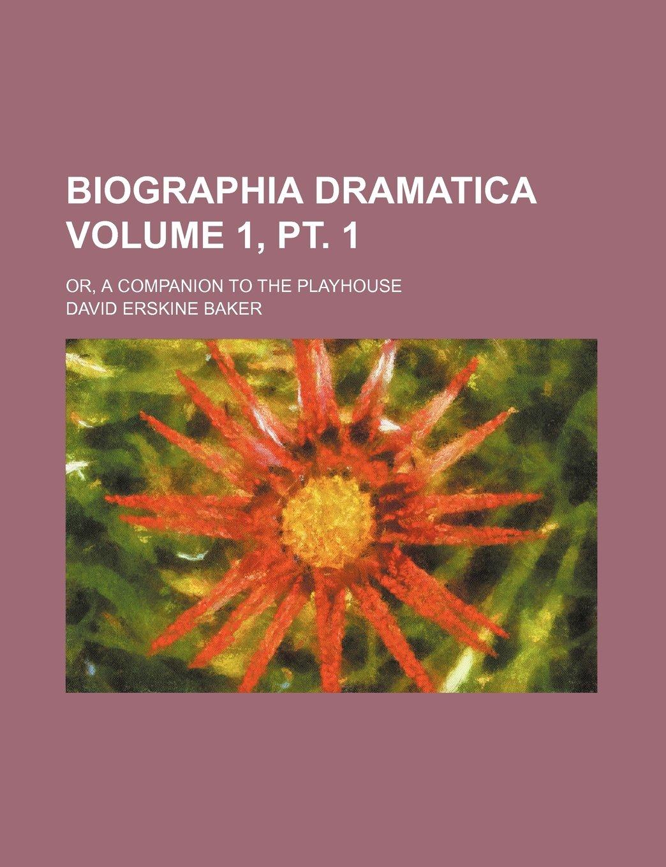 Biographia dramatica Volume 1, pt  1
