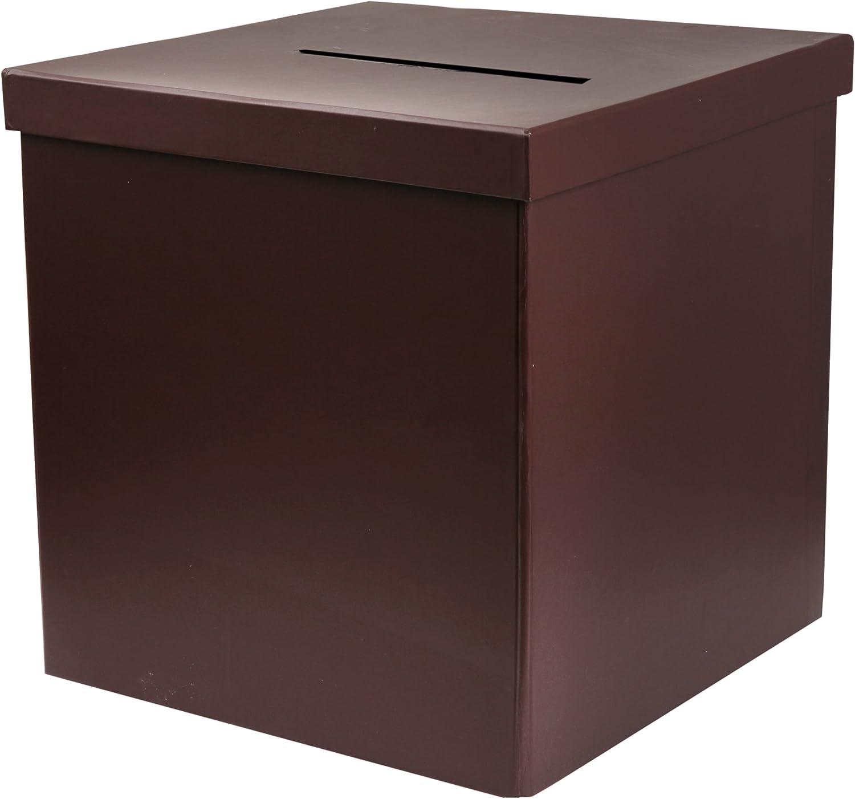 Caja para dinero o regalos sobres tómbola sorteo colour marrón Palandi: Amazon.es: Bebé