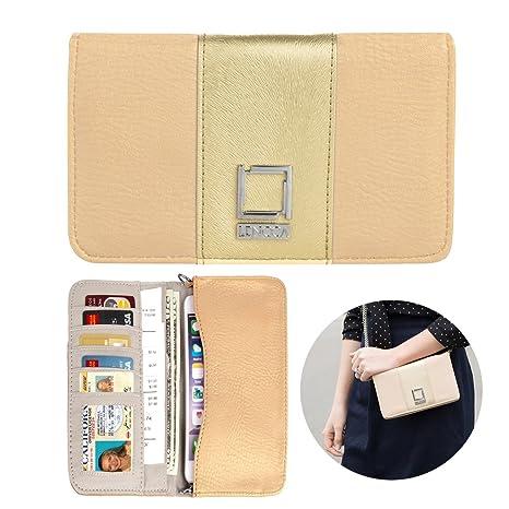 1d9c8d930e14 Amazon.com: Ladies Phone Clutch Wallet Multi Purpose Long Soft ...