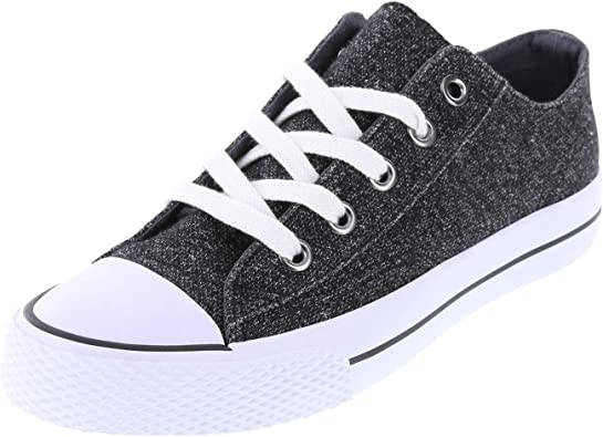 Airwalk Women/'s Legacee White Canvas Lace-Up Sneakers Shoes Medium Width