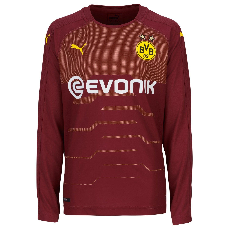 Puma Kinder BVB Ls Gk Shirt-Replica with Evonik Without Opel Logo Trikot