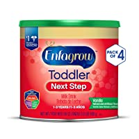 Deals on 4 Pack Enfagrow Toddler Next Step, Vanilla Flavor Powder Can 24 Ounce