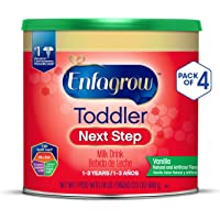 4-Pack Enfagrow Toddler Next Step Vanilla Milk Drink (24 oz Cans)