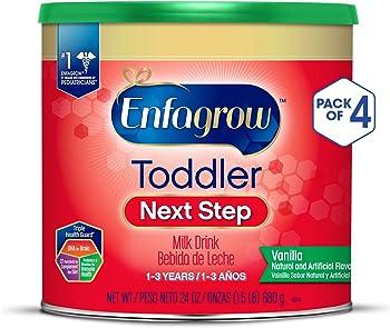 4-Pack Enfagrow Toddler Next Step Vanilla Milk Drink