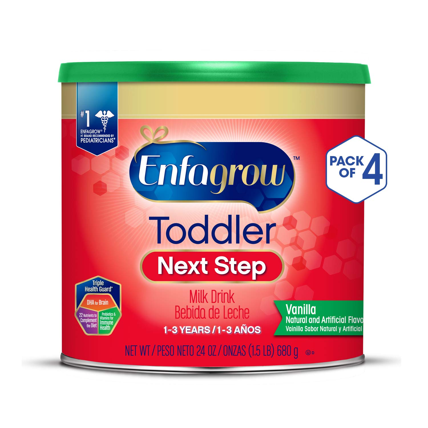 Enfagrow Toddler Next Step, Vanilla Flavor