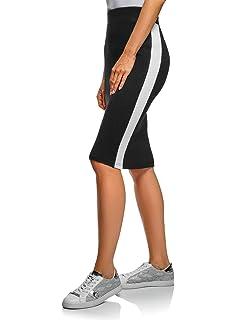 oodji Ultra Mujer Falda Trapecio Corta: Amazon.es: Ropa y accesorios