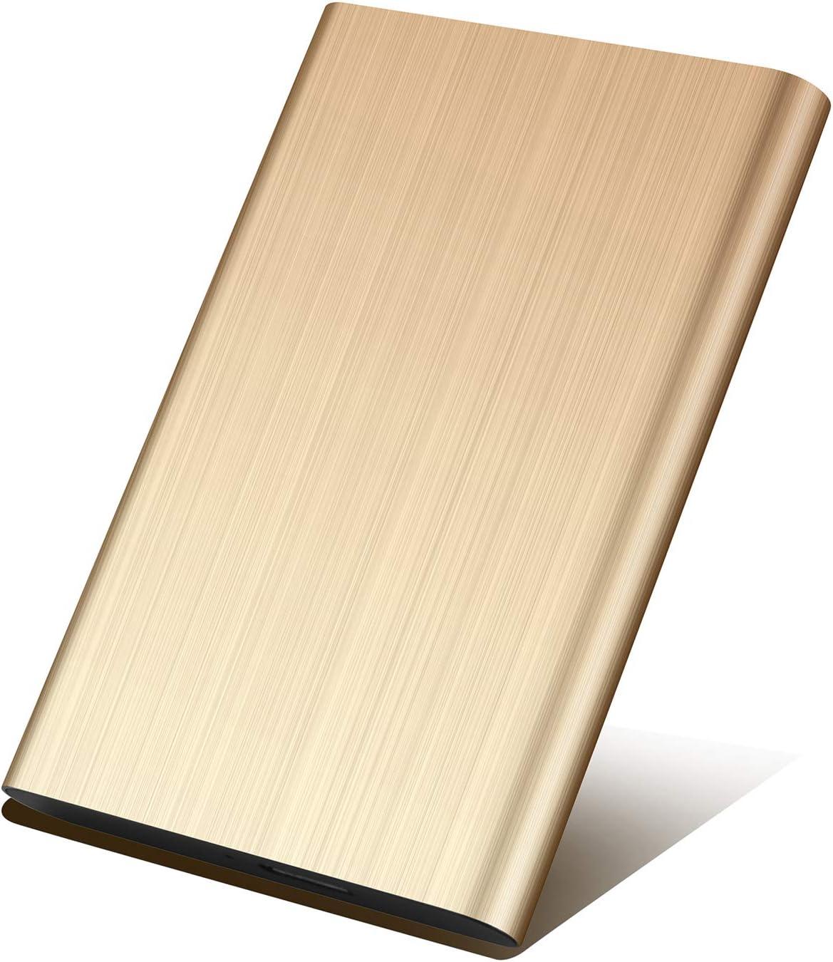 1 TB, Negro USB3.0 SATA HDD Almacenamiento para PC y Mac Prode Disco Duro Externo Port/átil 2.5 1TB