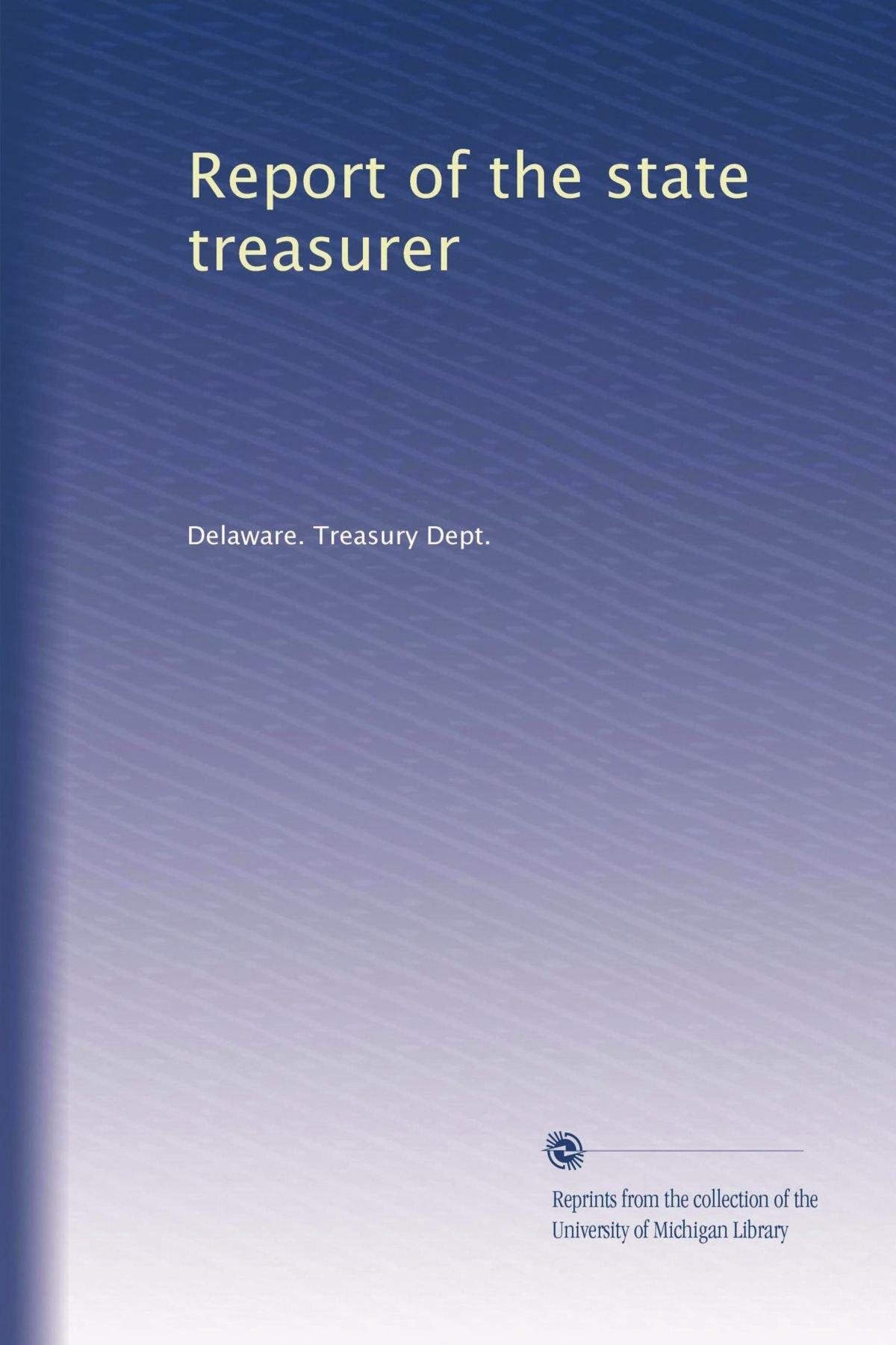 Report of the state treasurer (Volume 2) pdf